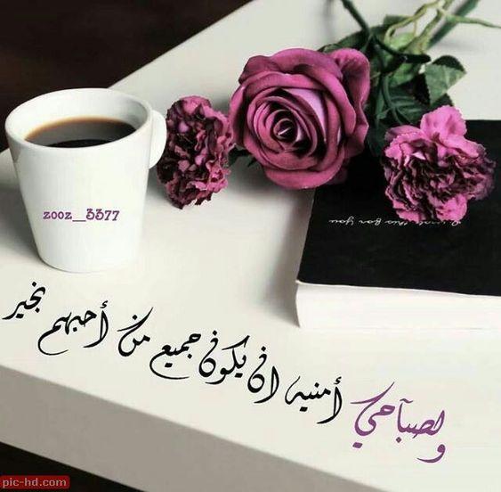 بالصور كلمات صباحية للحبيب , عبارات صباح الخير للحبيب 2273 4