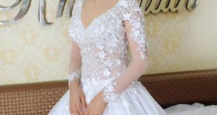 صور فساتين اعراس فخمه , اجمل فستان زفاف