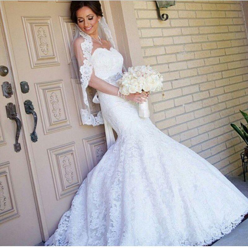 بالصور فساتين اعراس فخمه , اجمل فستان زفاف 2276 1