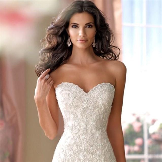 بالصور فساتين اعراس فخمه , اجمل فستان زفاف 2276 3