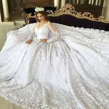 بالصور فساتين اعراس فخمه , اجمل فستان زفاف 2276 4