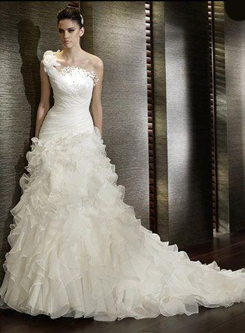 بالصور فساتين اعراس فخمه , اجمل فستان زفاف 2276 5