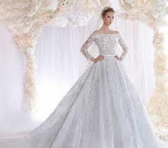 بالصور فساتين اعراس فخمه , اجمل فستان زفاف 2276 7