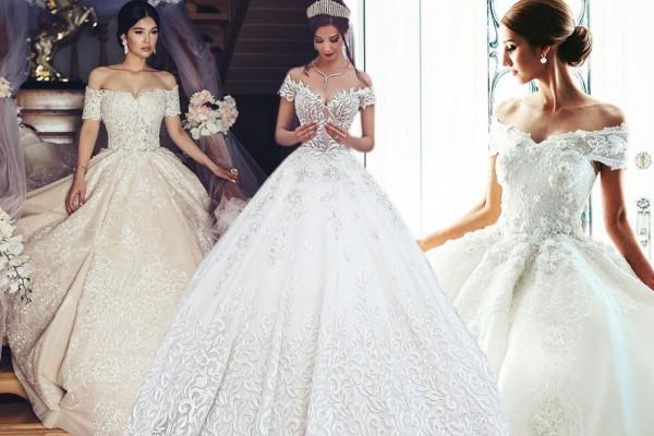 بالصور فساتين اعراس فخمه , اجمل فستان زفاف 2276