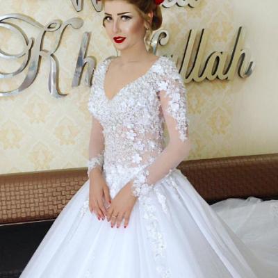 صوره فساتين اعراس فخمه , اجمل فستان زفاف