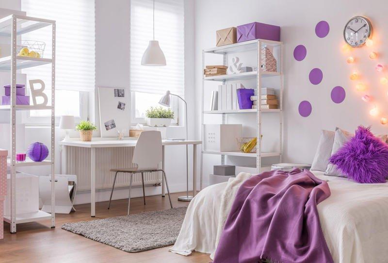 صورة ديكور غرف نوم بنات , احلى ديكور لغرفة بنوتة عصرية