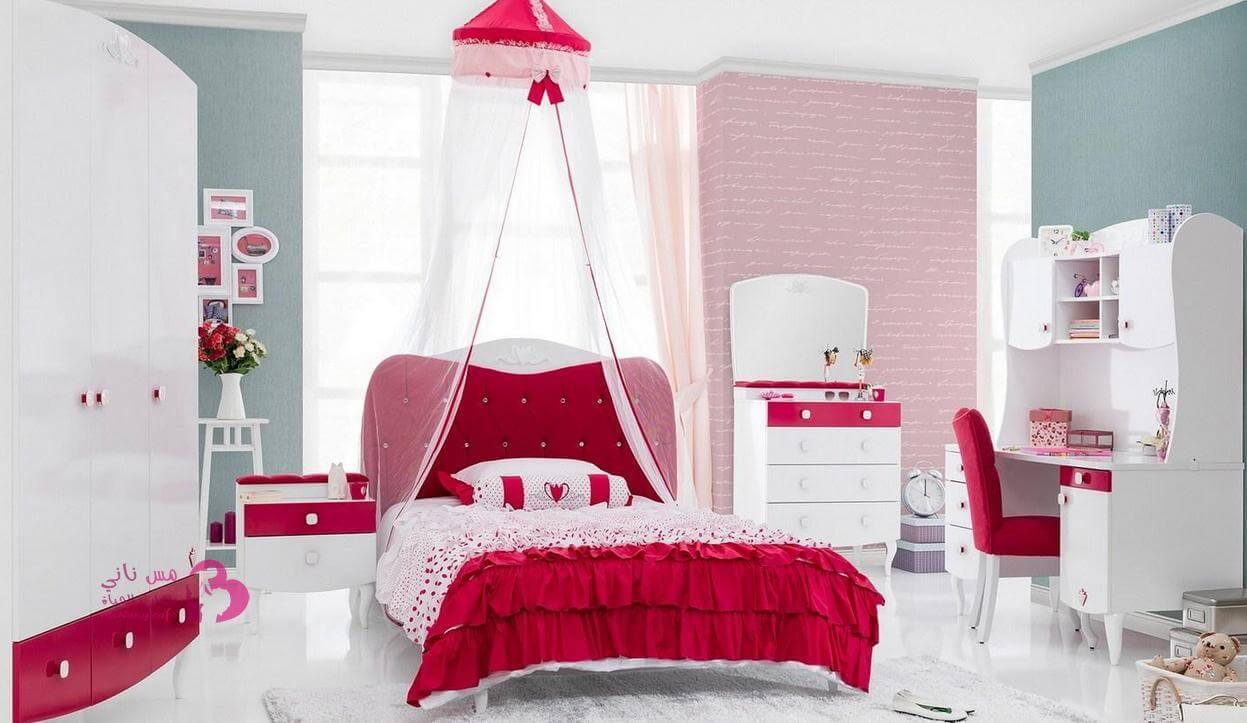 بالصور ديكور غرف نوم بنات , احلى ديكور لغرفة بنوتة عصرية 2283 4