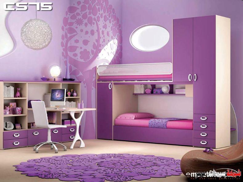 بالصور ديكور غرف نوم بنات , احلى ديكور لغرفة بنوتة عصرية 2283 5