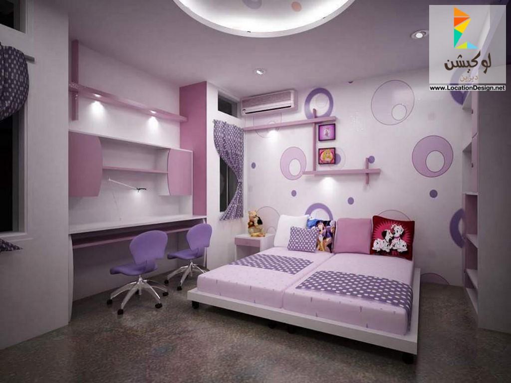 بالصور ديكور غرف نوم بنات , احلى ديكور لغرفة بنوتة عصرية 2283 8
