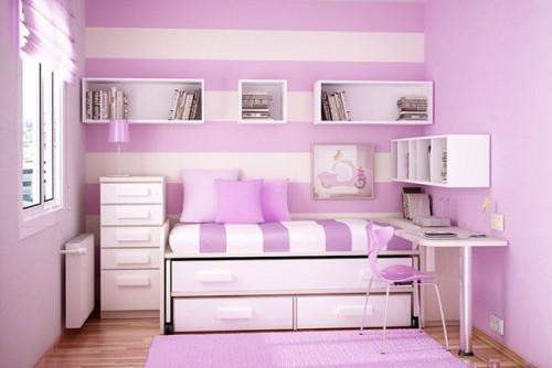 بالصور ديكور غرف نوم بنات , احلى ديكور لغرفة بنوتة عصرية 2283 9