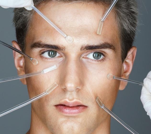 صورة علاج نحافة الوجه عند الرجال , طريقة علاج نحافة الوجه عند الرجال
