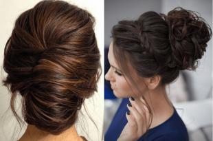 صور تسريحات بسيطة للشعر الطويل , اجمل تسريحات شعر بسيطة للشعر الطويل