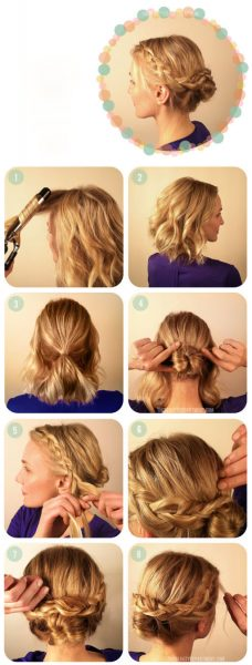 صور موديلات شعر بسيطة , اسرع تسريحات الشعر
