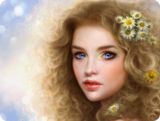 صور رسومات بنات جميلة , اجمل رسومات بنات