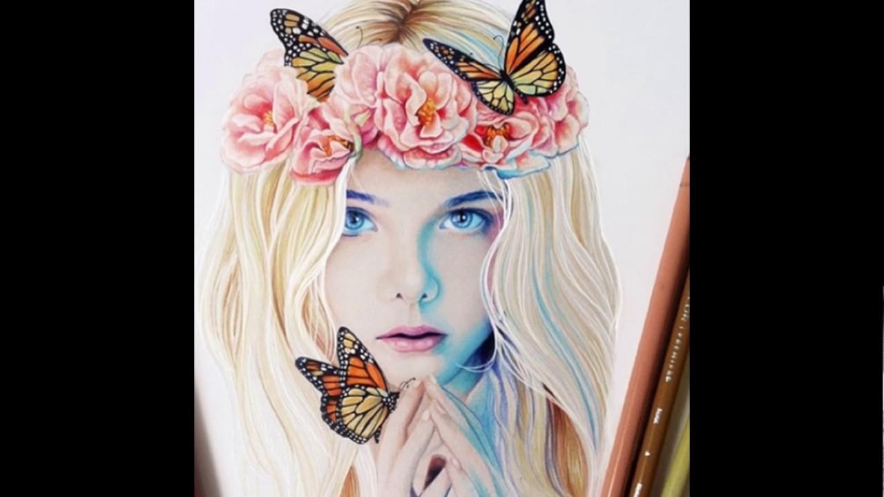 صورة رسومات بنات جميلة , اجمل رسومات بنات 3253 6
