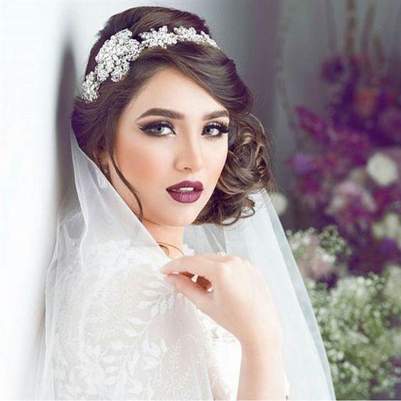 بالصور مكياج عرايس ناعم , ميك اب عروسة هادئ 4734 8