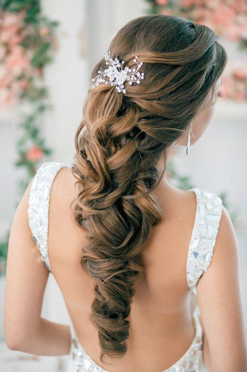 صور احلى تسريحه عروس , احسن تسريحات شعر