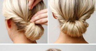 صوره تسريحات بسيطة للشعر , افضل تسريحه شعر للعروس