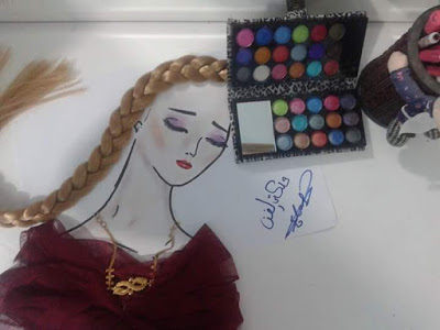 صورة صور بنات رسومات , اجمل رسمات البنات