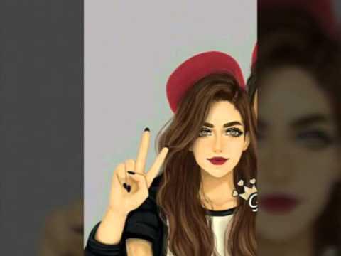 صورة رسومات بنات حلوه , اجمل رسومات البنات 5731 4