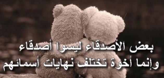بالصور كلمات عن الصداقة , اجمل كلمات في الصداقة 1233