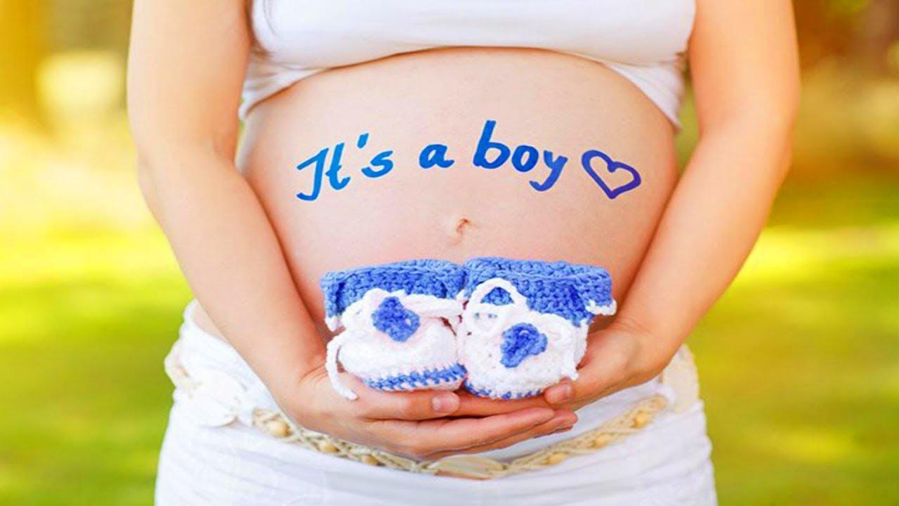 شكل بطن الحامل ببنت