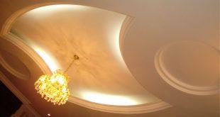 صوره ديكورات جبس شقق , تصاميم جبس لاسقف وجدران الشقق