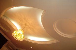 صورة ديكورات جبس شقق , تصاميم جبس لاسقف وجدران الشقق