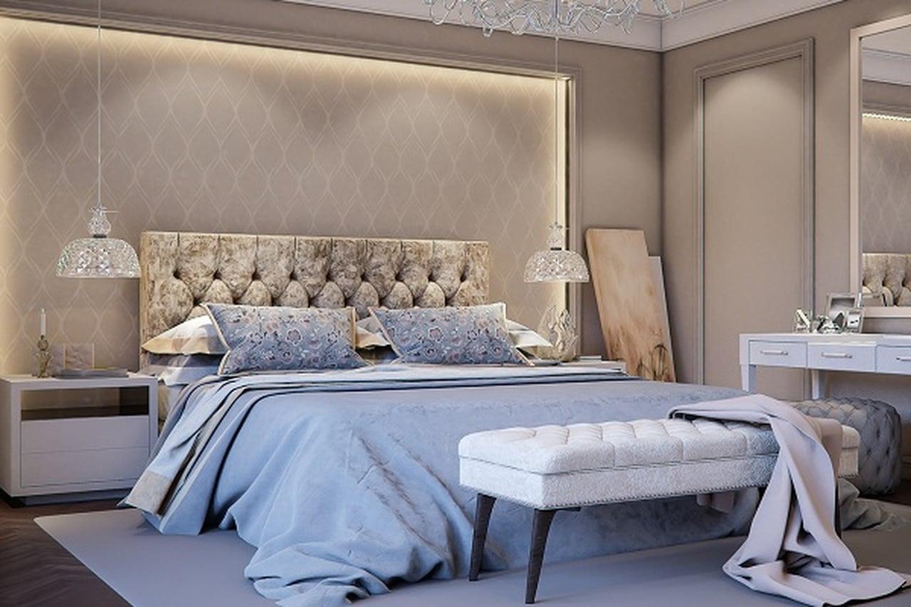 صور الوان غرف النوم , اجمل تصاميم وديكورات جدران غرف نوم عرسان