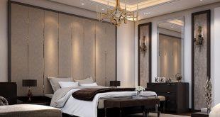 صوره الوان غرف النوم , اجمل تصاميم وديكورات جدران غرف نوم عرسان