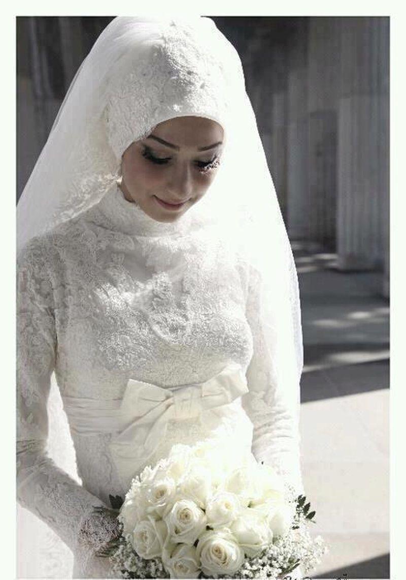 بالصور فساتين زفاف محجبات , اجدد تفصيلات وتصاميم فساتين الافراح 1998 10