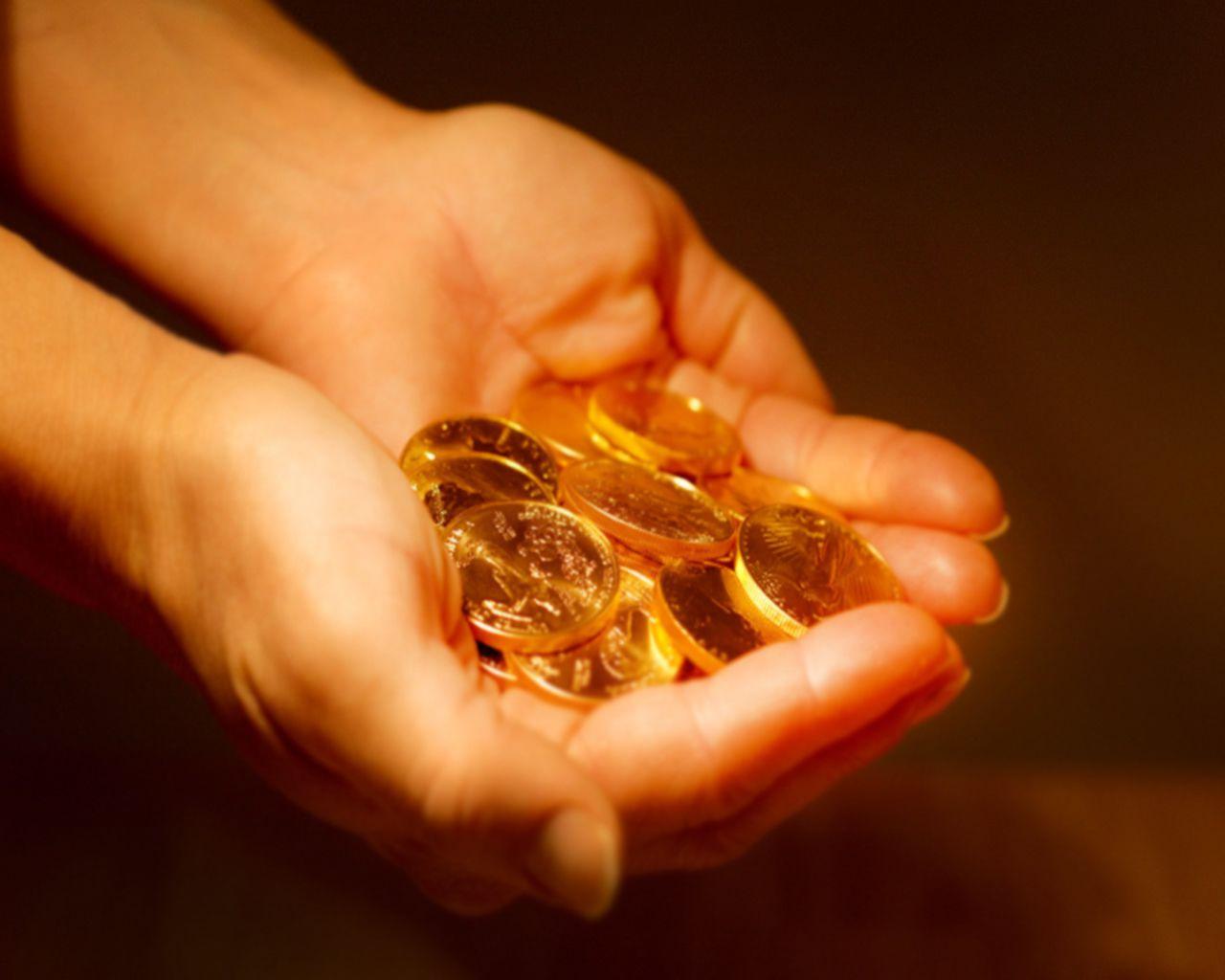 صور تفسير الذهب في الحلم , رؤية المراه للذهب في المنام