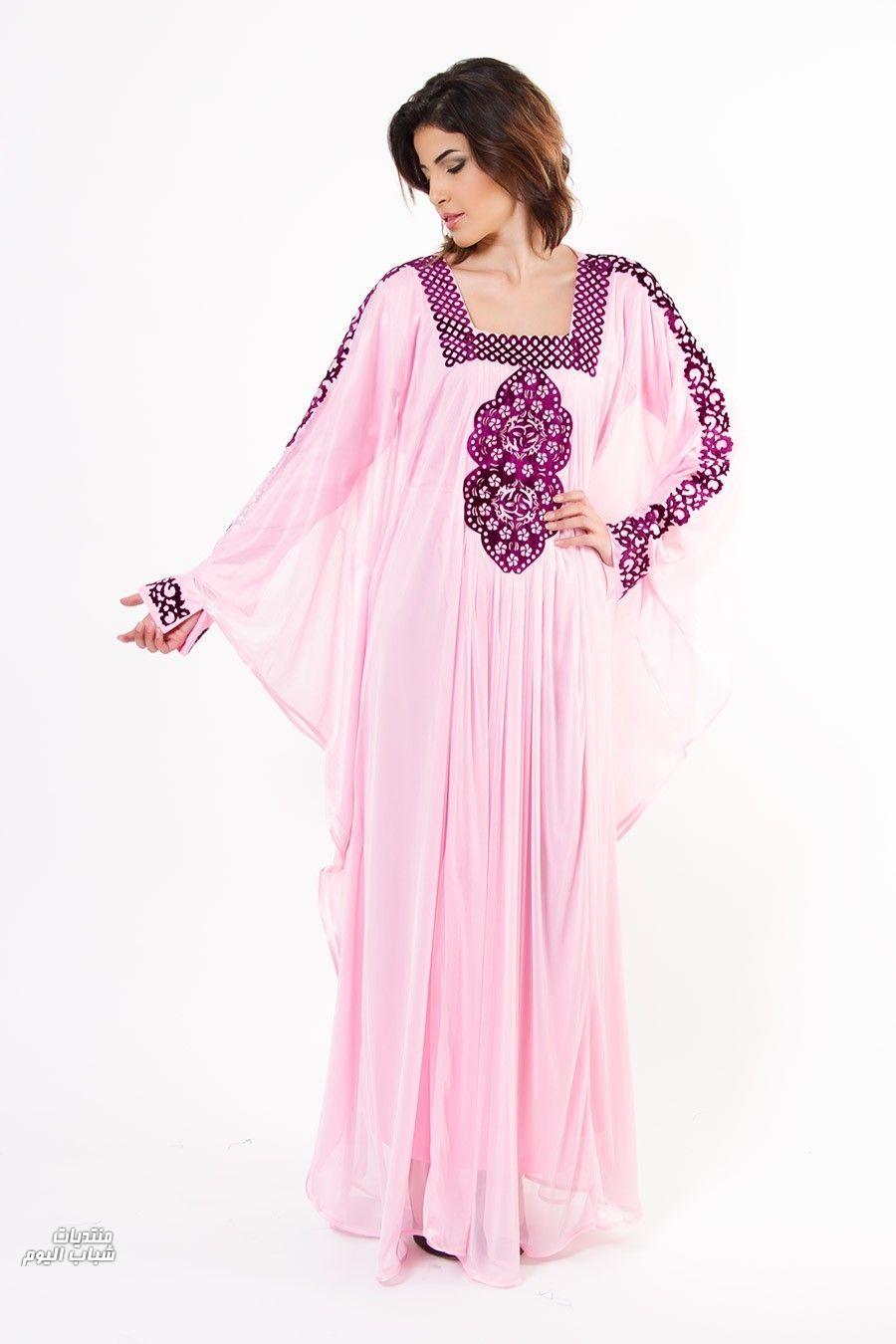 بالصور جلابيات خليجية , اجمل تصاميم ملابس خليجيه 2176 10