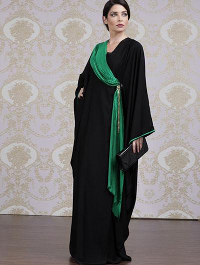 بالصور جلابيات خليجية , اجمل تصاميم ملابس خليجيه 2176 8