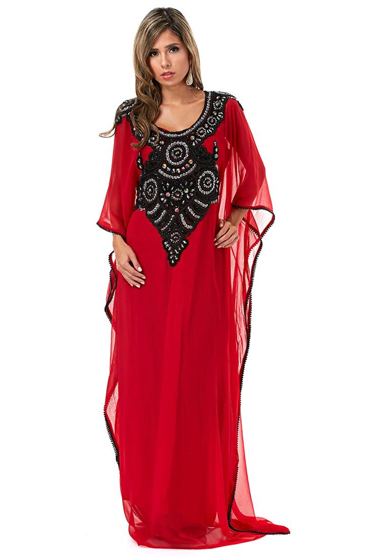 بالصور جلابيات خليجية , اجمل تصاميم ملابس خليجيه 2176 9