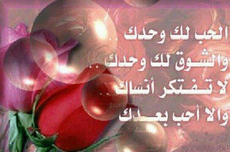 بالصور اشعار حب وغرام , كلمات حبيب عاشق