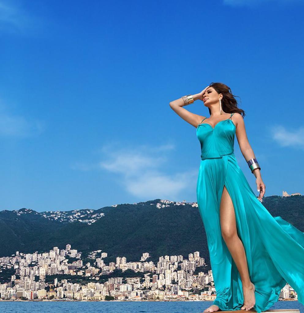 بالصور فساتين اليسا , اجمل تصاميم لفساتين المشاهير 2669 9