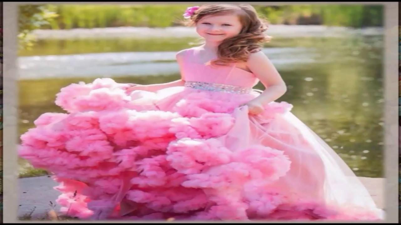 بالصور فساتين سهرة للاطفال , صور فساتين اطفال للسهرات 2675 10