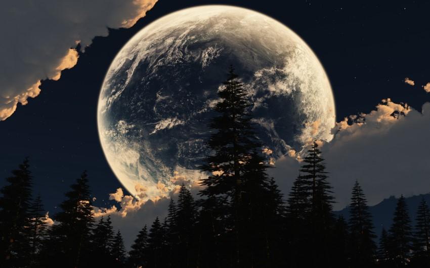 بالصور صور عن القمر , خلفيات ضوء القمر الساحرة 2679 7