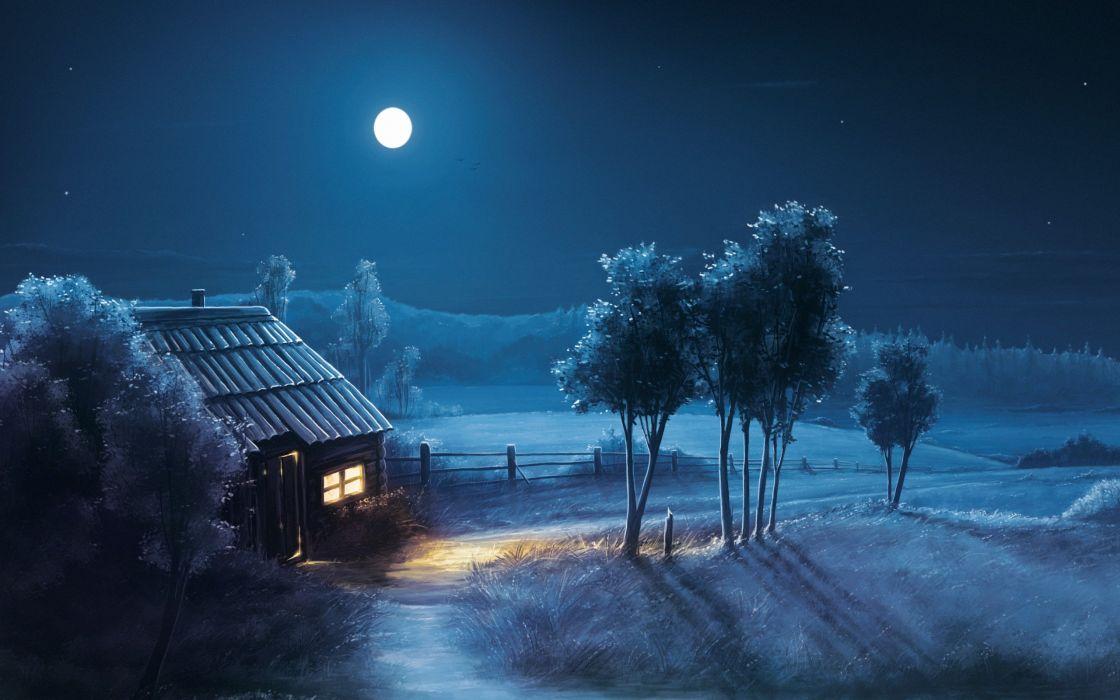بالصور صور عن القمر , خلفيات ضوء القمر الساحرة 2679 9