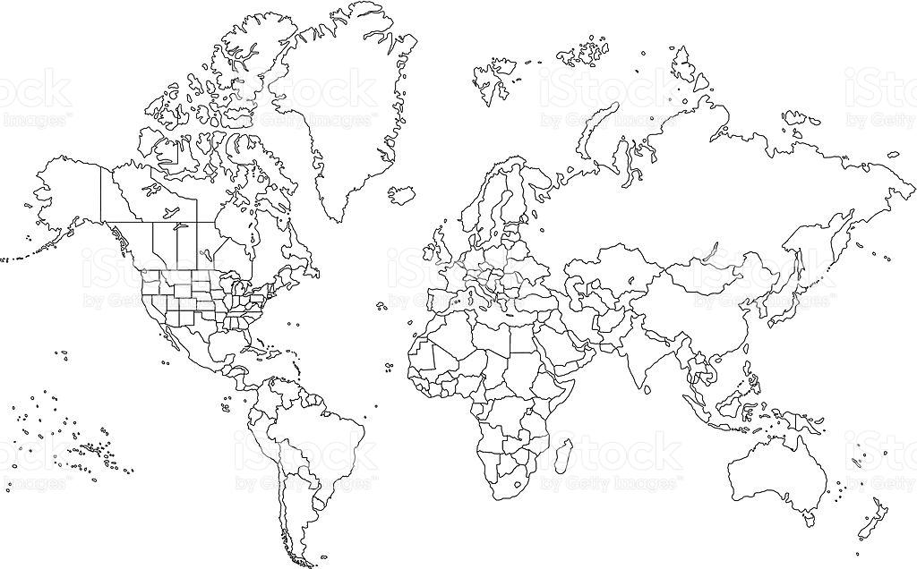 Kleurplaat Kaart Van Europa خريطة العالم صماء تعرف على خريطة العالم الصماء روح اطفال
