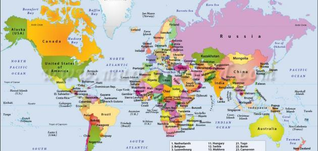 صورة اسماء جميع دول العالم , معرفه اسماء الدول ومعالمها
