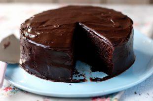 صورة طريقة عمل كيكة الشوكولاته منال العالم , احدث طرق عمل كيكه الشوكليت بطريقه سهله