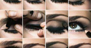 صوره مكياج عيون خفيف , كيف اعمل مكياج عيون