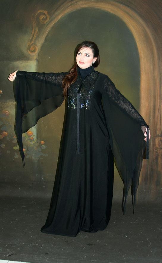 بالصور عبايات كويتية , ملابس كويتية خليجية 628 2