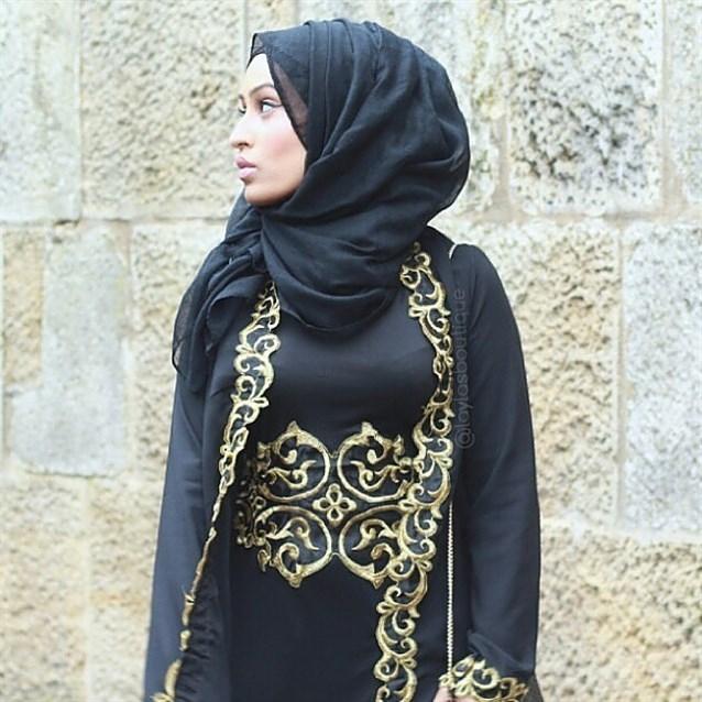 بالصور عبايات كويتية , ملابس كويتية خليجية 628 3