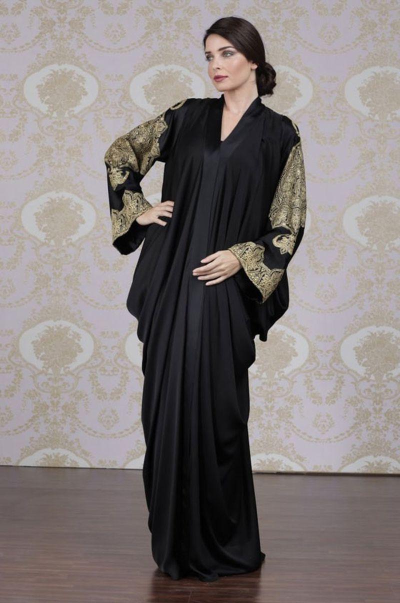 بالصور عبايات كويتية , ملابس كويتية خليجية 628 5