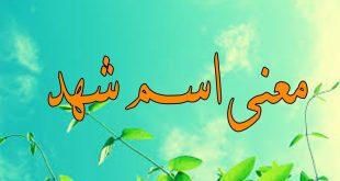 صوره ما معنى اسم شهد , معانى اسماء شهد