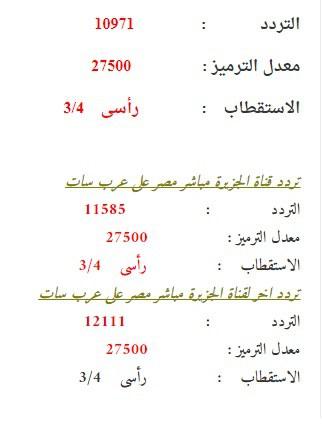 بالصور تردد قناة الجزيرة مباشر , ترددات قناة الجزيرة مباشر 699 2
