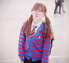 بالصور بنات كوريات كيوت بالنظارات , اجمل بنات لطيفه وكيوت من كوريا 3742 15